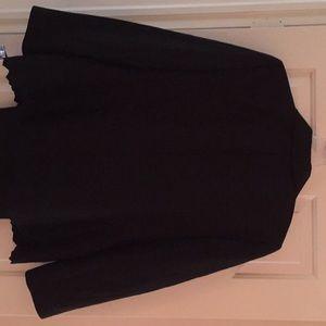 Jasper black pant suit